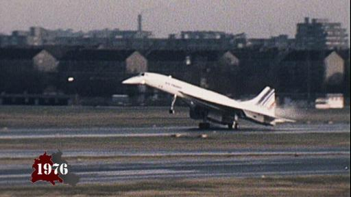 Concorde landet in Tegel