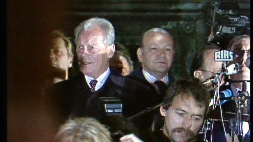 Willy Brandt am Rathaus Schöneberg