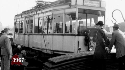 Tram verschwindet aus West-Berlin