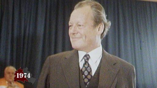Willy Brandt steps down